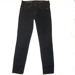 J Crew Black Toothpick Ankle Jeans